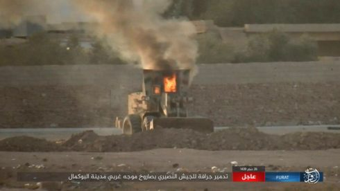 US-led Coalition Reportedly Hinders Syrian Army Advance In al-Bukamal (Photos, Videos, Map)