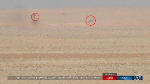ISIS ha distrutto 6 veicoli dell'esercito siriano con missili guidati anti-carro (foto)