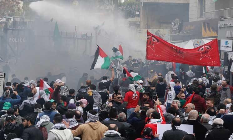 Protestors Attack US Embassy In Lebanon (Videos)