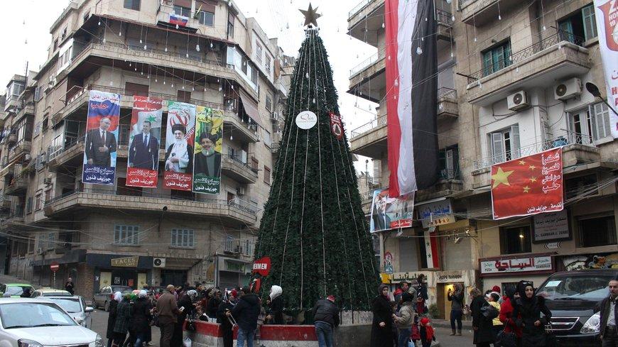 "Photos: Christmas In Aleppo City ""Occupied By Assad Regime"""