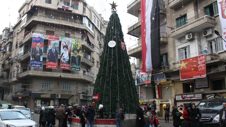 "Photos: Christmas In Aleppo City ""Occupied By Assad Regime"""