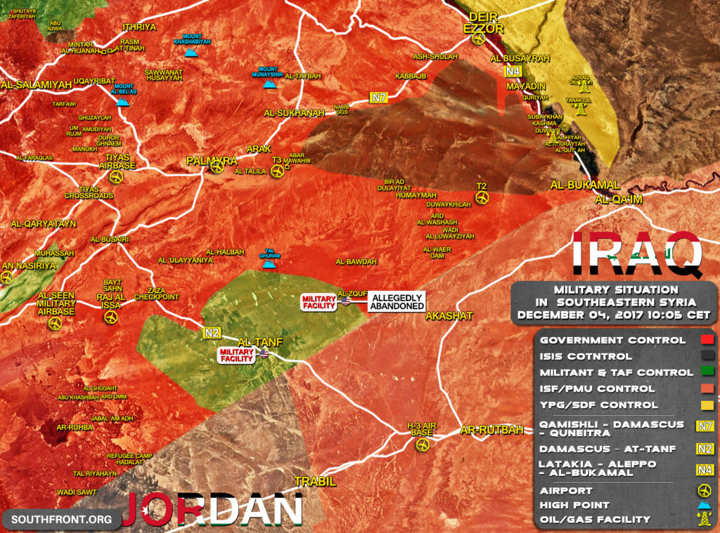 Military Situation In Southeastern Syria: Tiger Forces Crush ISIS Defense On Western Bank Of Euphrates