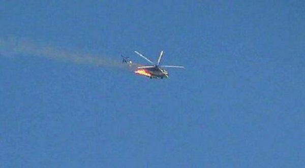 Militants Shot Down Syrian Air Force Helicopter Near Beit Jinn (Photo, Video)