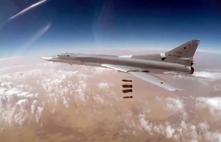 Russian Tu-22M3 Bombers Hit ISIS Targets In Syria