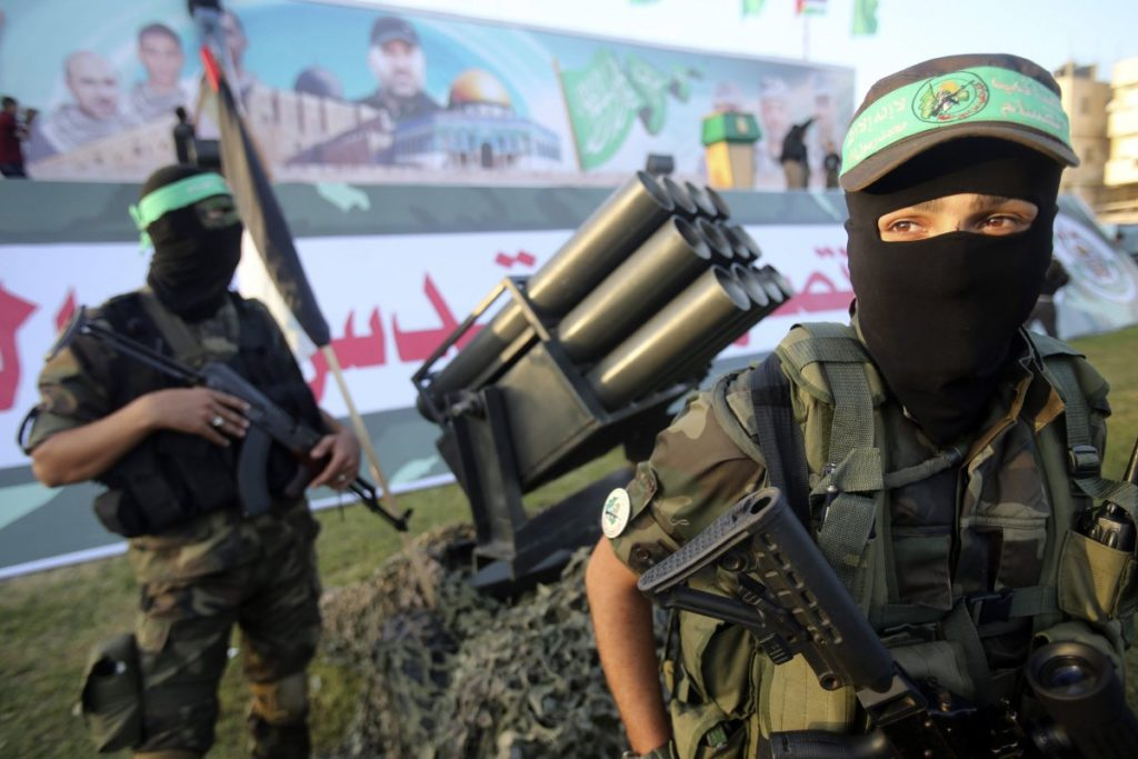 Israeli Air Force Struck Alleged Military Compound Of Hamas After Rocket Launch From Gaza