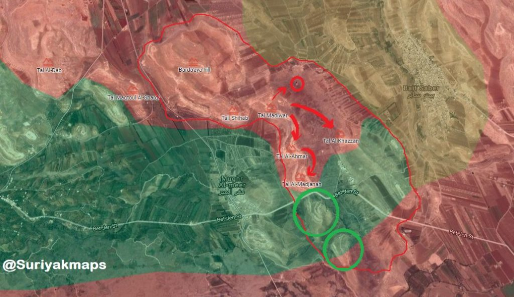 Syrian Army Is About To Divide Beit Jinn Pocket Into Two Separate Parts - Reports