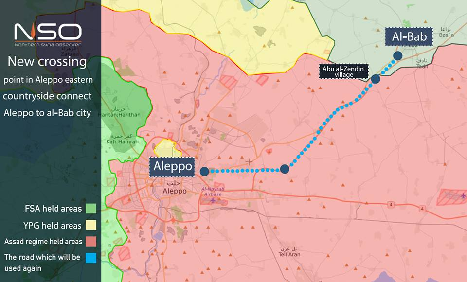 Turkish-backed Militant Groups Finished Preparationss To Re-Open Highway Between Al-Bab And Aleppo CIties