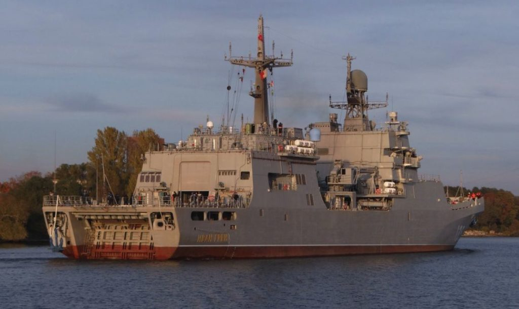 Ivan Gren: New Amphibious Ship to Enter Service with Russia's Navy