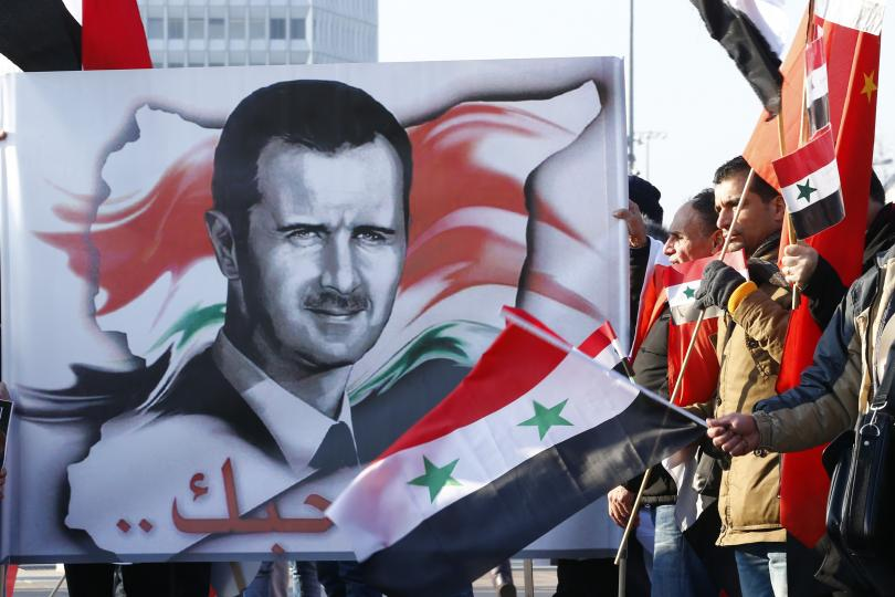 """French President: Assad Will Remain In Power Because Iran, Russia """"Won The War On The Ground"""""""