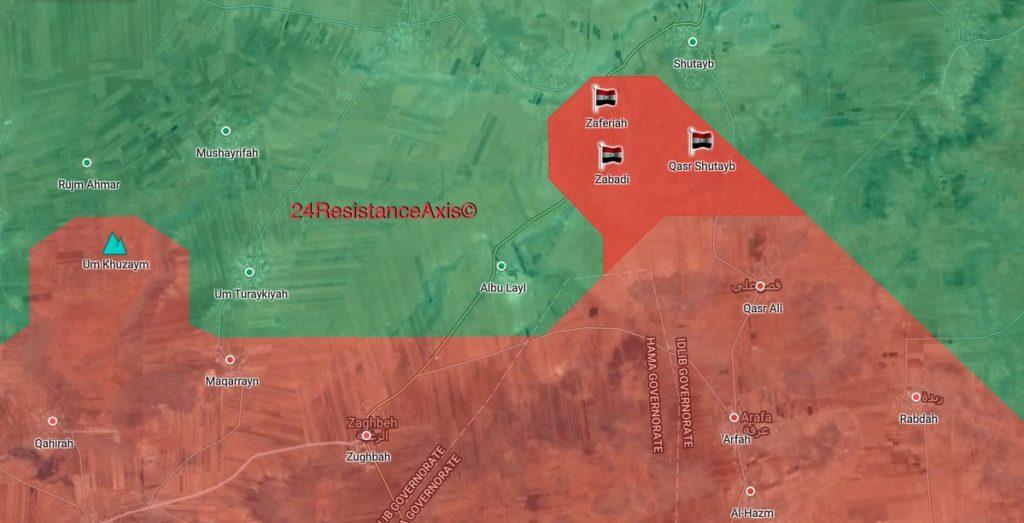 Government Forces Retook 3 Villages From Hayat Tahrir al-Sham In Northeastern Hama (Map)