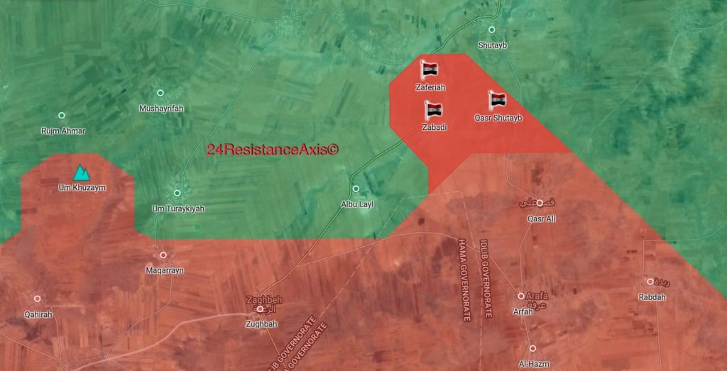Government Forces Retook 3 Villages From Hayat Tahrir al-Sham In Northeastern Hama (Map)