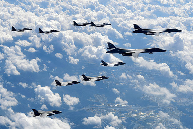 """In """"Largest-Ever"""" Military Drill, US Orders 16,000 Troops, 230 Jets To Simulate War With North Korea"""