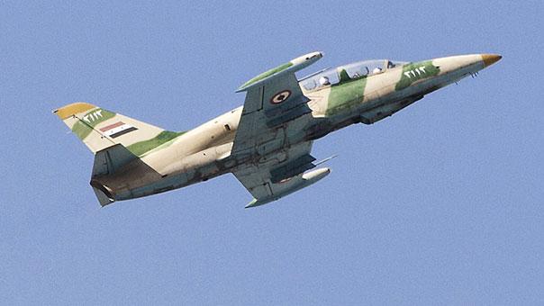ISIS Claims Its Members Downed Syrian Warplane Near al-Bukamal