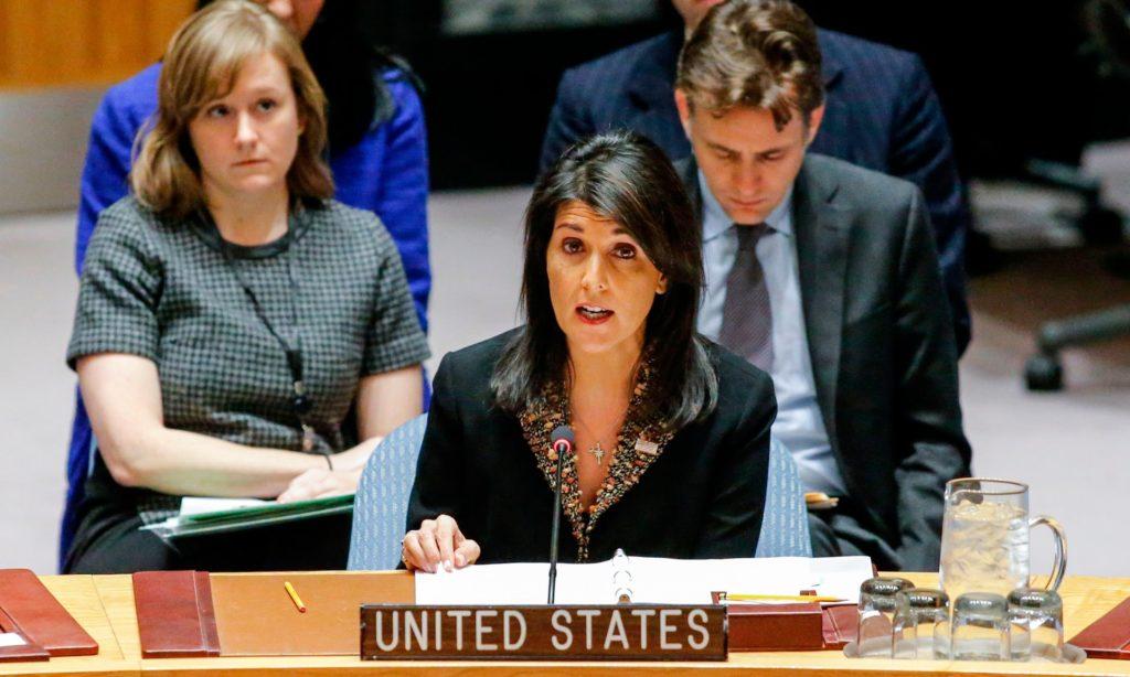 US Threatens Jerusalem Recognition Critics Ahead Of UN Vote