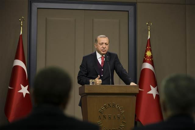 Erdogan: Turkey, Russia Work To Evacuate 500 People From Syria's East Ghouta Region