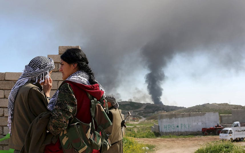 Kurdistan Workers Party Declares New Self-Rule Region In Northern Iraq