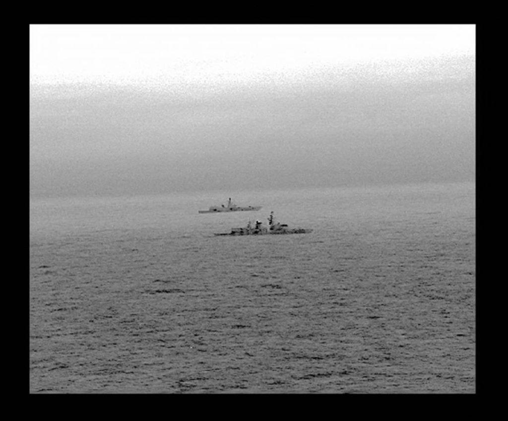 Royal Navy's Frigate Escorted Russian Warship Admiral Gorshkov Near British Waters In North Sea