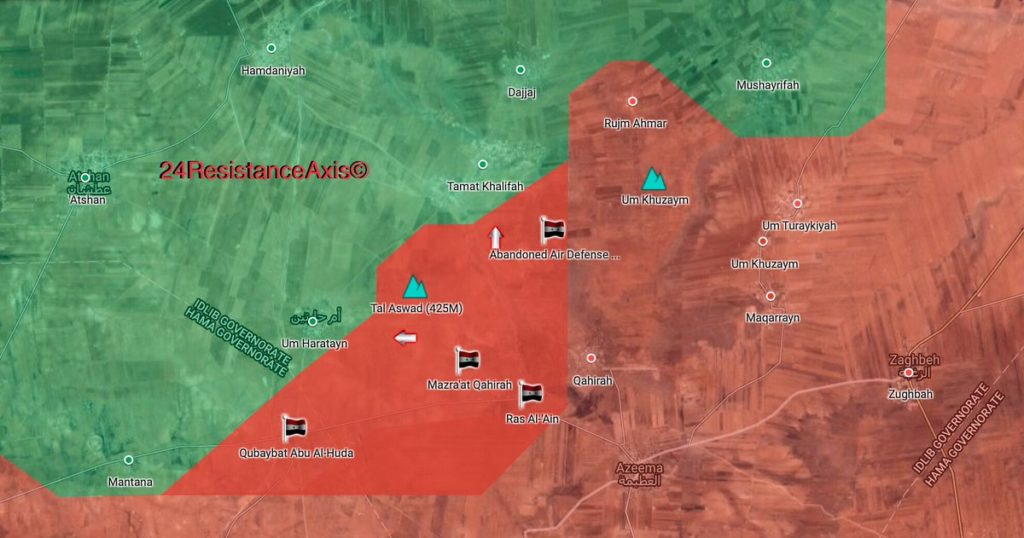 Map Update: Progress Of Tiger Forces Advance In Southern Idlib