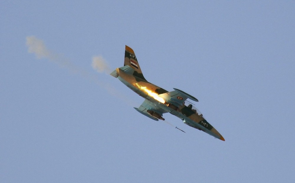 L-39 Warplane Of Syrian Air Force Crashed In Northern Hama. Pilot Died