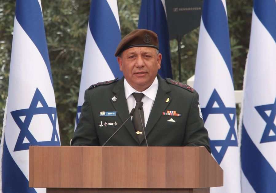 IDF Chief Of Staff: Israel May Face War On Several Fronts
