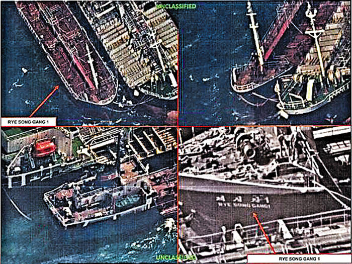 US Recon Satellites Spotted Chinese Ships Selling Oil To North Korea Despite Sanctions