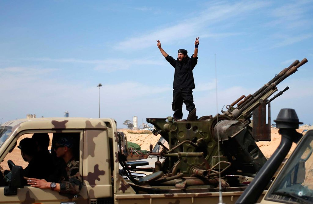 ISIS Members Flee To Libya And Southwestern Asia After Terrorist Group's Collapse In Syria