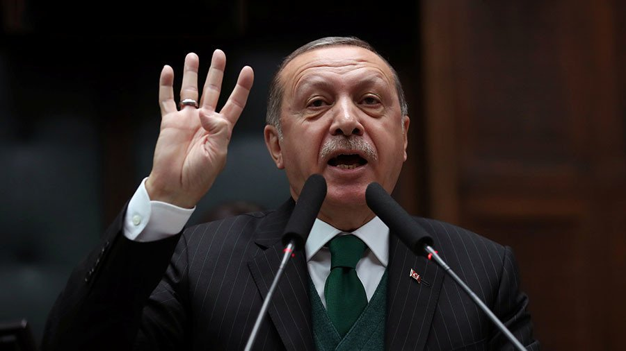 "Turkey's Erdogan: Syrian President Is ""Terrorist Who Has Carried Out State Terrorism"""
