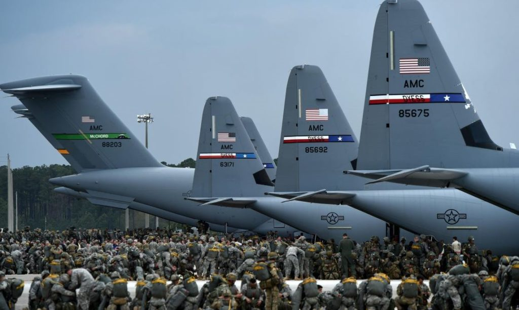 US Prepares for Forcible Entry Operations in Remote Theaters of War