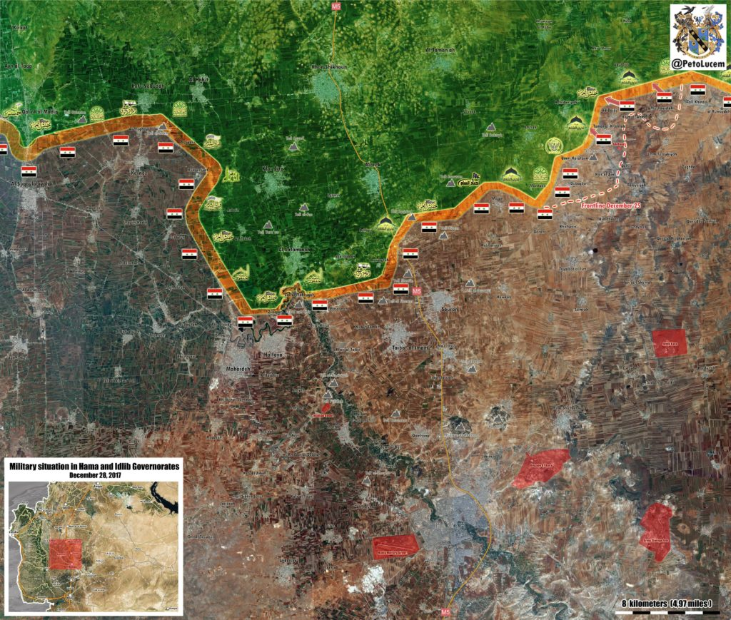 Syrian Army Liberates 3 Villages, Further Advances Towards Abu Dali (Map)