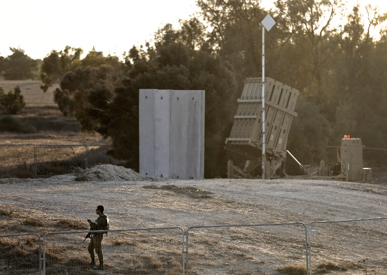 Israeli Defense Forces Intercepted Two Rockets Launched From Gaza Strip