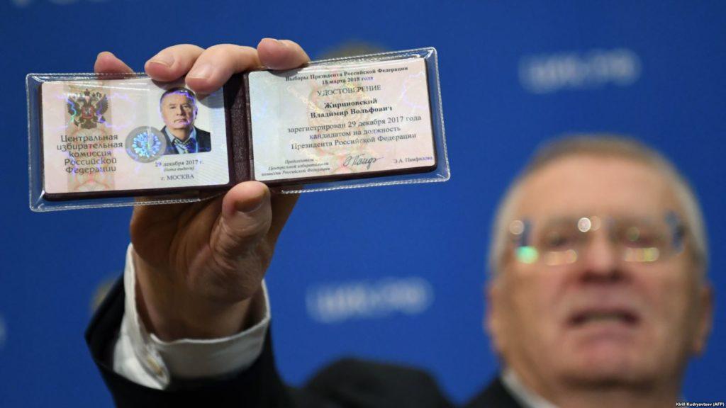 Interview With Russian Presidential Candidate Vladimir Zhirinovsky