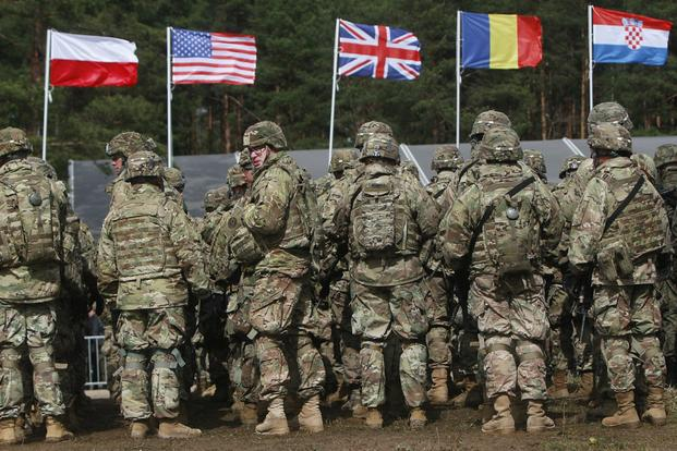 Russia Says Number Of NATO Troops Near Its Border Tripled Since 2012