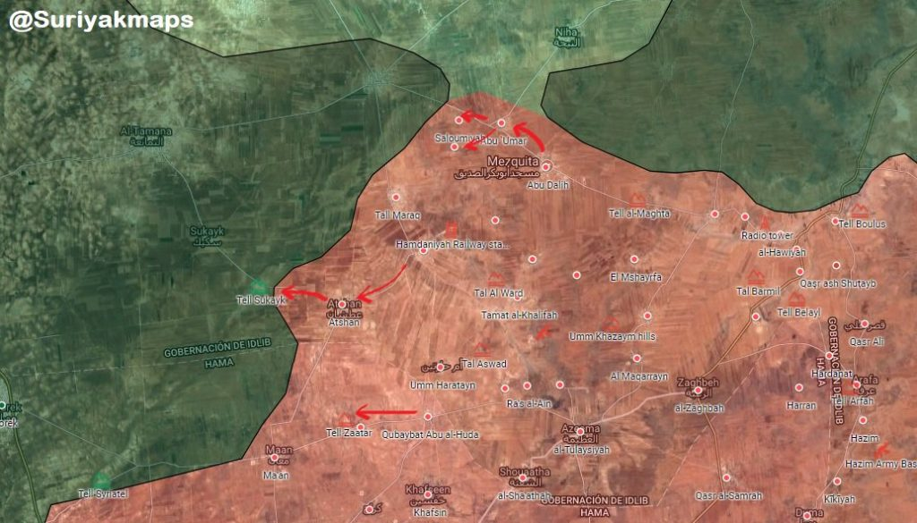 Militants On Run In Southern Idlib, Syrian Army Liberates More Area (Map, Video, Photos)