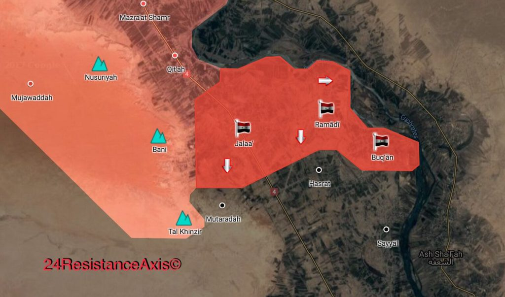 ISIS Terrorists On Retreat In Euphrates Valley, Syrian Elite Forces Liberated 3 More Villages