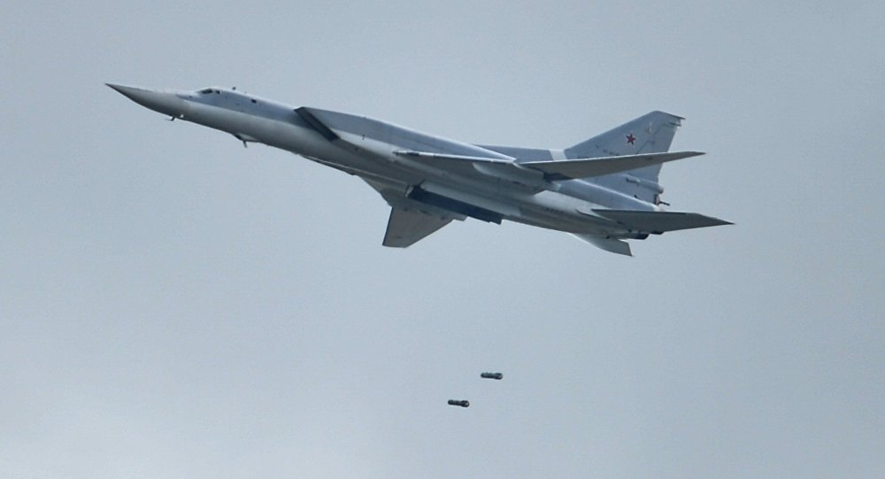 Russian Tu-22M3 Bombers Struck ISIS Targets On Western Bank Of Euphrates
