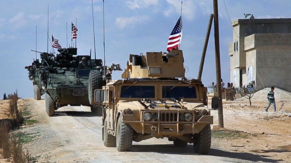 """Pentagon: US Forces To Stay In Syria """"As Long As We Need To"""""""