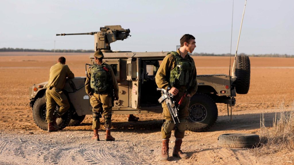 Israeli Defense Forces Are On High Alert Ahead Trump's Expected Decision To Move US Embassy From Tel Aviv To Jerusalem