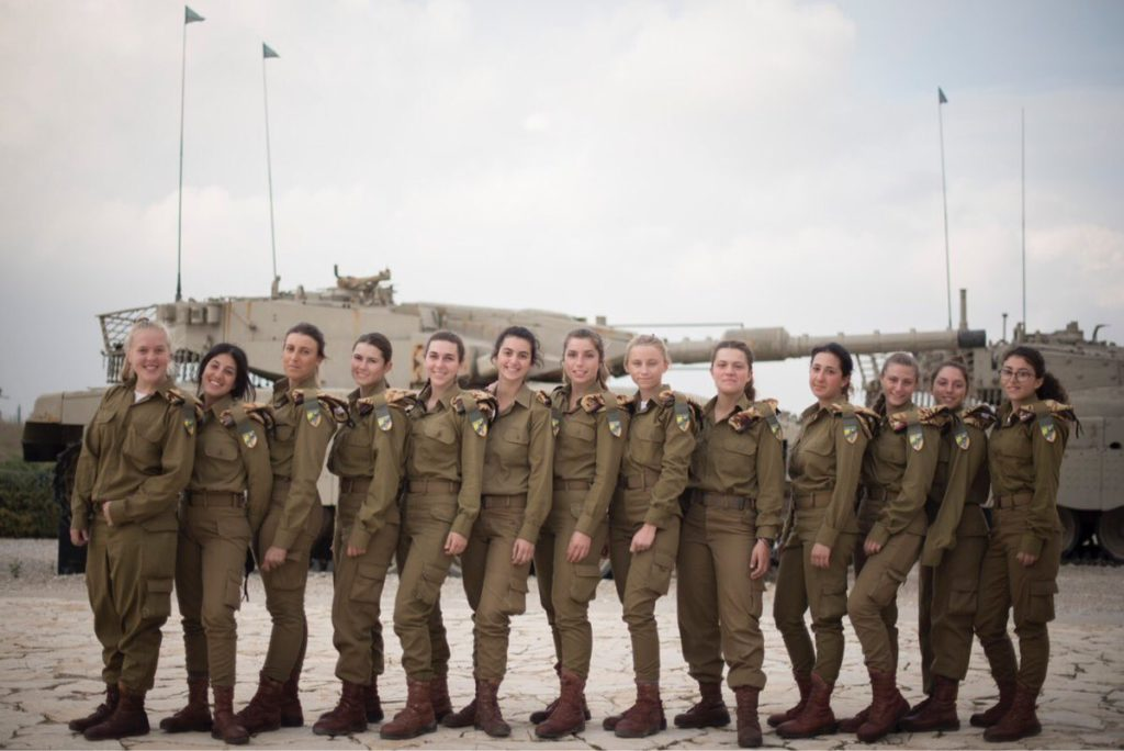 First Israeli Female Combat Tank Operators Are Ready For Deployment