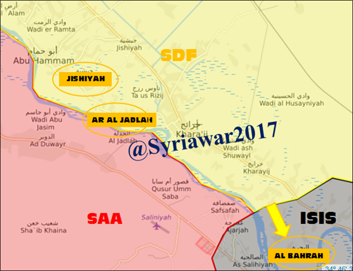 US-backed Forces Gain More Ground In Euphrates Valley As ISIS Fiercely Attacks Syrian Army (Maps)