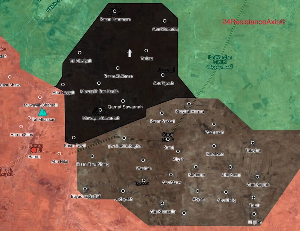 ISIS Breaks Through Hayat Tahrir al-Sham Defense In Northeastern Hama (Map)
