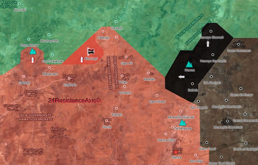 ISIS Advances Further In Northeastern Hama, Gains More Area From Hayat Tahrir al-Sham (Map)