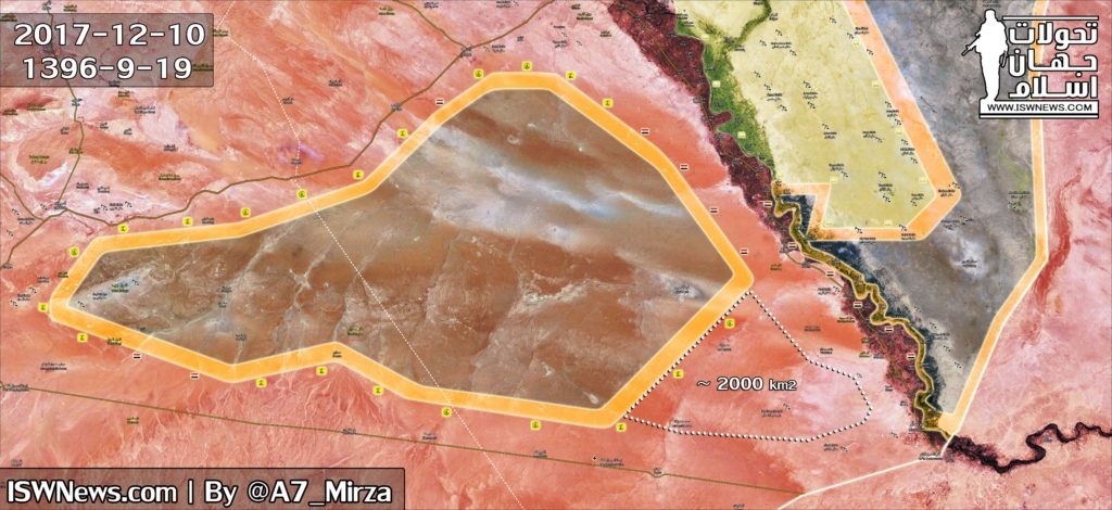 Military Situation In Eastern Syria On December 10, 2017 (Map Update)