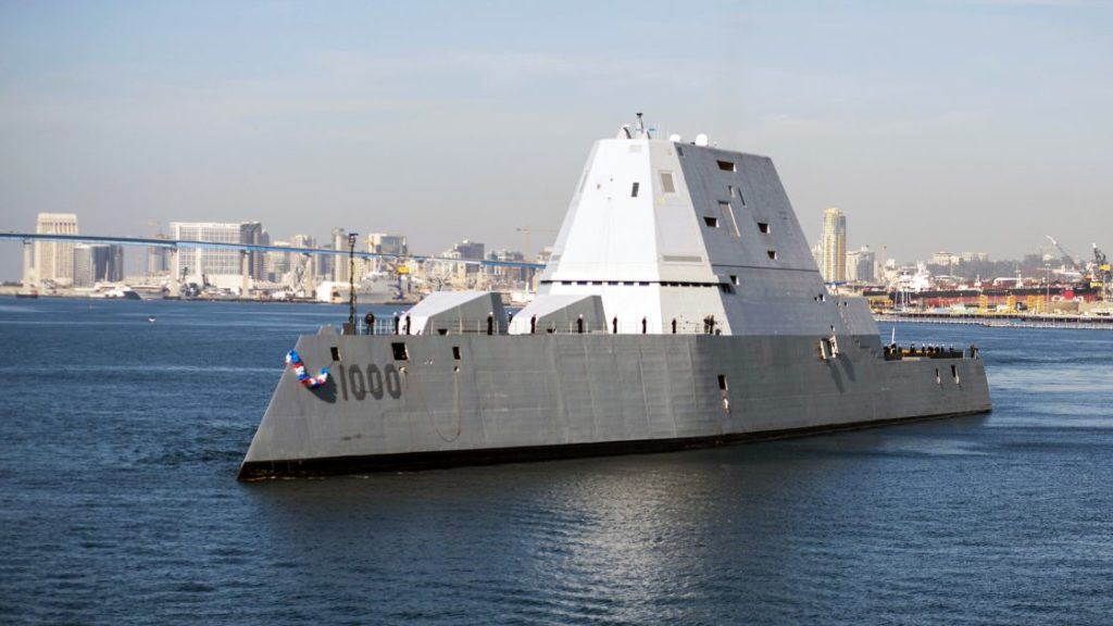 Second Zumwalt-class Destroyer Is Forced To Stop Builders Trials Because Of Electrical System Problems