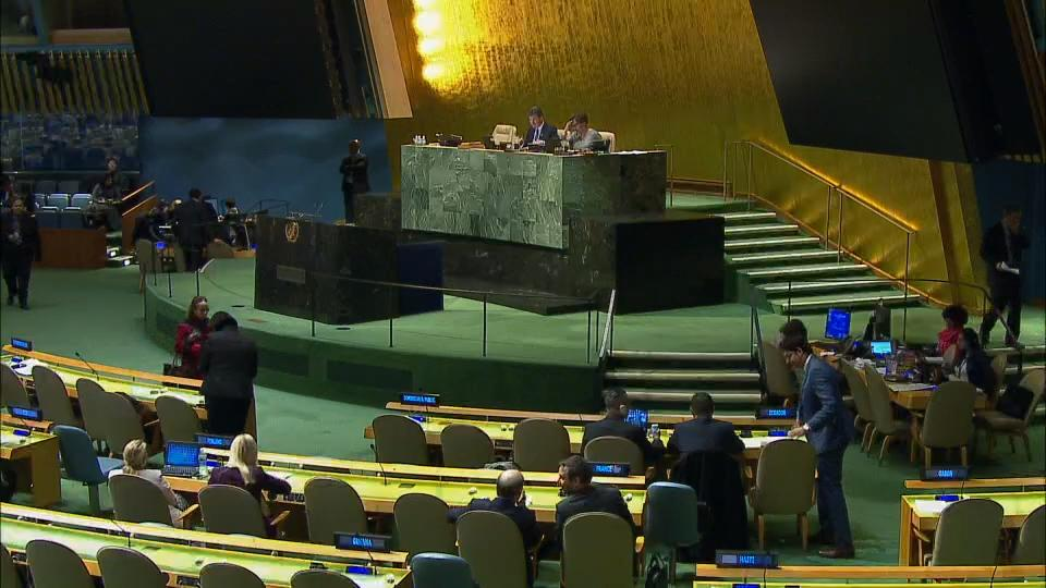 128 Countries Vote In Favour Of UN Resolution Condemning US Recognition Of Jerusalem As Israel's Capital
