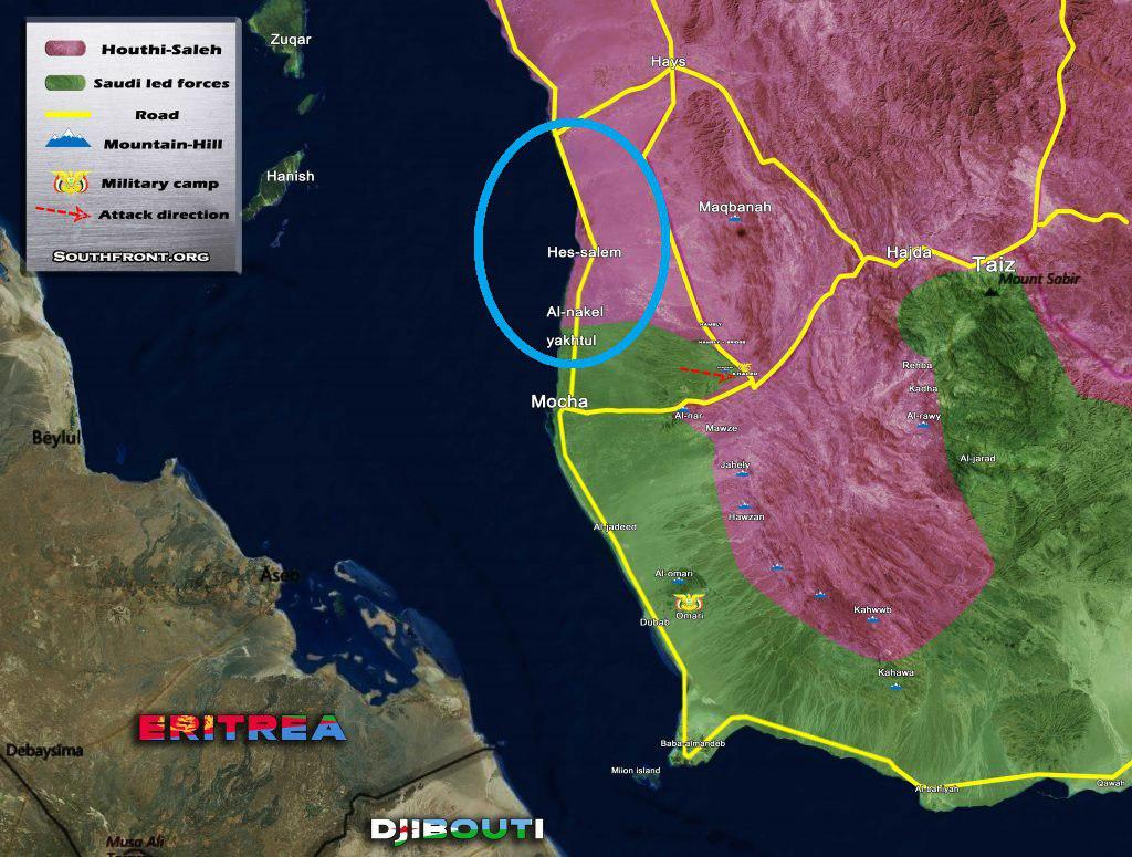 Saudi-led Coalition Advances Towards Two Strategic Regions In Yemen (Photos, Map)