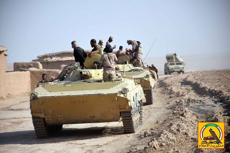 Popular Mobilization Units Deploy More Forces On Syrian-Iraqi Border To Counter Cross-Border Attacks By ISIS