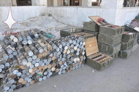 Syrian Army Captures Dozens Of ATGMs, Large Amount Of Weapons And Equipment From ISIS (Videos, Photos)