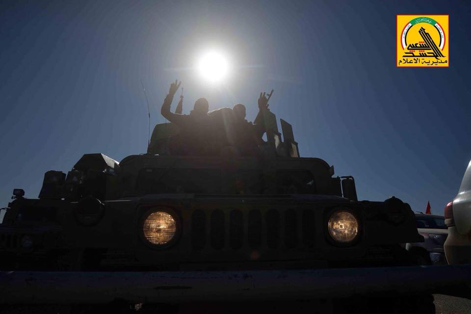 Iraqi Popular Mobilization Units Repel Another ISIS Attack On Border With Syria