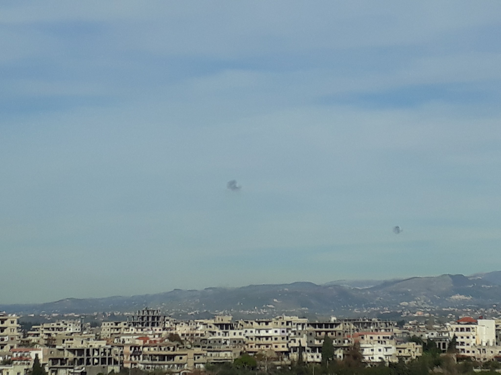 Russian Pantsir-S1 Air-Defense System Intercepted Grad Rockets Over Khmeimim Air Base (Photos)