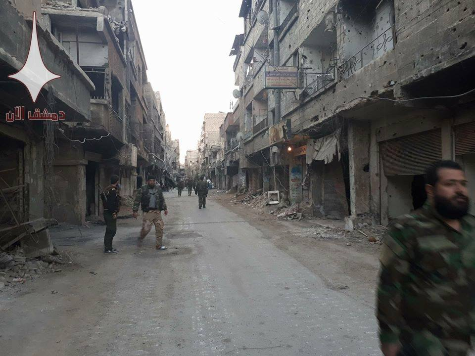 Syrian Army Repels ISIS Attack In Near Damascus (Video, Photos)